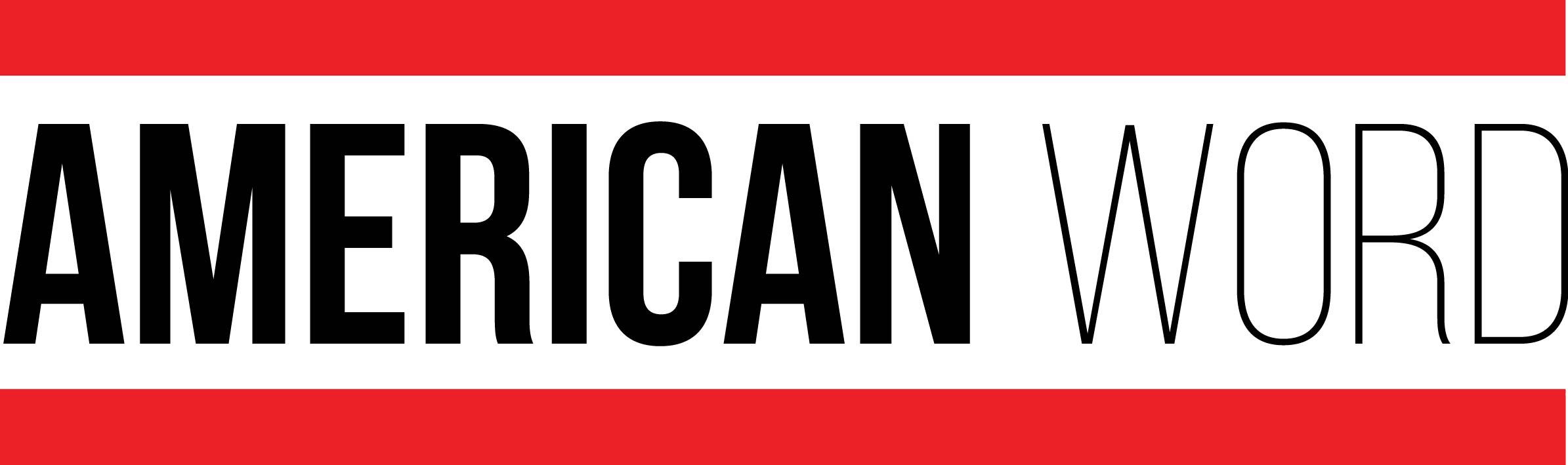 American Word Logo